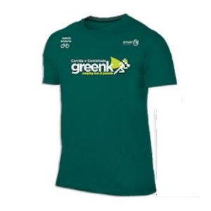 Camiseta Greenk Cosplay Run & Parede Verde