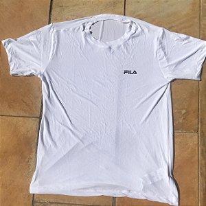 Camiseta FILA Branca em Poliamida