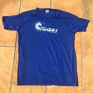 Camiseta IAAF RUN Azul em Poliamida
