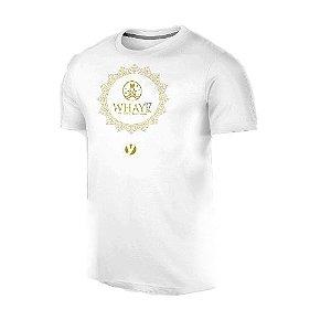 Camiseta WHAY YOGA BRANCA em Algodão