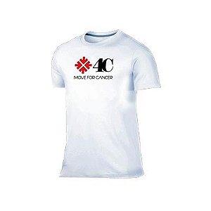 Camiseta Movie For Câncer  Branca