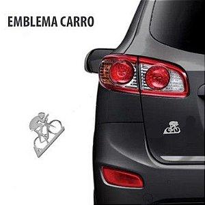 Emblema para Carro Ciclista