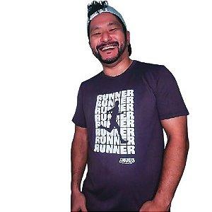Lançamento: Camiseta RUNNER Marrom Mania de Corrida