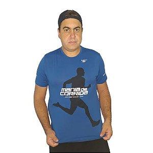 Lançamento: Camiseta Mania de Corrida Azul Escuro