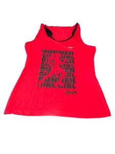 Regata RUNNER GIRL Vermelha - Mania de Corrida