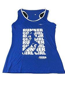 Regata RUNNER GIRL Azul - Mania de Corrida