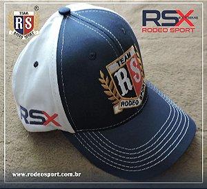 Boné RSX Rodeo Sport Azul e Branco