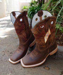 Rodeo Sport Boot cano Marrom