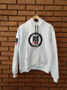 Moletom Capuz Rodeo Sport RS Team Branco