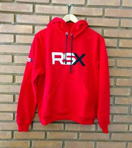 Moletom Capuz RSX Vermelho