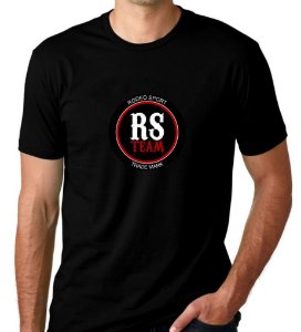 Camiseta Rodeo Sport RS Team Preta