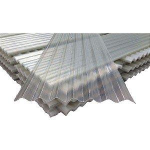 Telha Translúcida de Fibra de Vidro 2,44 x 0,50 M