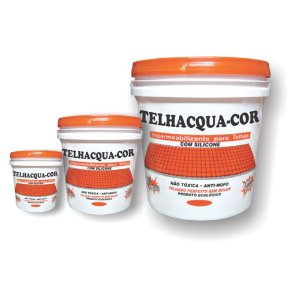 Resina Acrílica Colorida para Telhas e Tijolos 18L
