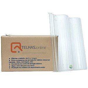 Kit 5 Telhas PET Plástica Voga Eurotop