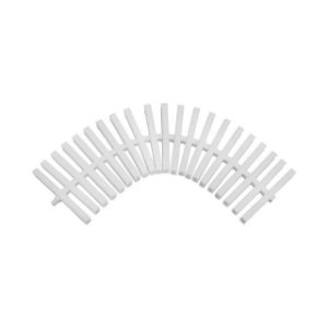 Kit 5 Metros Grelha Plástica Flexível Para Piscinas - 15 Cm