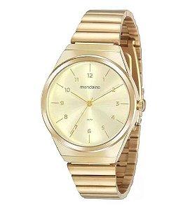 Relógio Mondaine Feminino Classic Dourado