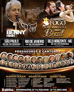 Patrocinador em Belo Horizonte, dia 26/02 no Estádio Mineirinho