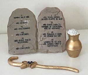 Arca grande e os dez mandamentos