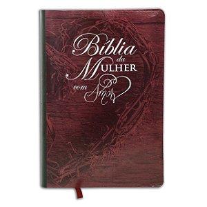 BÍBLIA DA MULHER DO AMOR (VINHO)