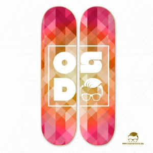 QUADRO SHAPE SKATE - OSD ABSTRACT