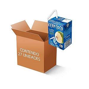 ÁGUA DE COCO KEROCOCO CONTENDO 27 UNIDADES DE 200ml CADA