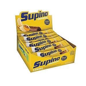 Barra de Frutas Supino Tradicional Banana com Chocolate ao leite com 24 unidades de 24g cada