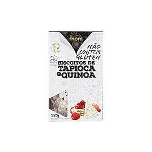 Biscoitos De Tapioca E Quinoa Fhom 50g