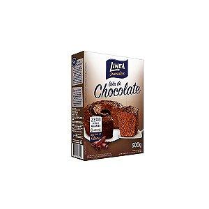 Mistura Para Bolo De Chocolate Linea 300g Zero Adição De Açúcares