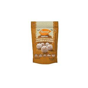 Bolinha De Doce De Leite Com Coco Zero Adição De Açúcares Flormel 60g