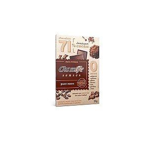 Tablete Chocolife Senses 71% Cacau Puro Cacau 25g