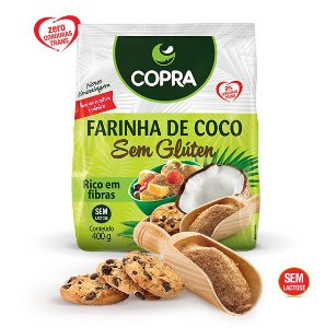Farinha De Coco Sem Glúten Copra 400g