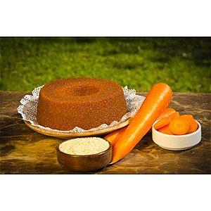 Mistura Para Bolo De Cenoura Sem Glúten E Sem Lactose Com Açúcar Mascavo Bem Nutrir 220g