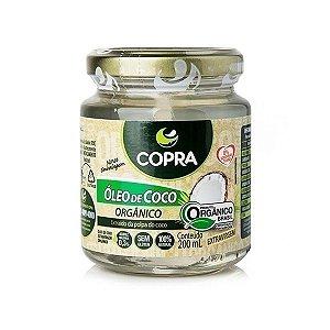 Óleo De Coco Orgânico Extravirgem Copra 200ml
