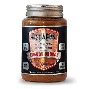 Pasta De Amendoim Integral Crocante Amendo Crunch El Shaddai 500g