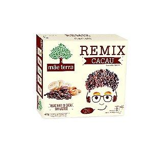 Remix Mãe Terra Cacau Contendo 2 Pacotes De 20g Cada.