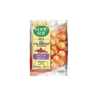 Snacks De Soja Good Soy Sabor Calabresa Com Pimenta 25g
