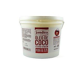 ÓLEO DE COCO JANDIRA EXTRAVIRGEM BALDE 3,2l