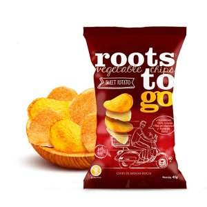 Snack Sweet Potato - Chips De Batatas-doces Roots To Go 45g