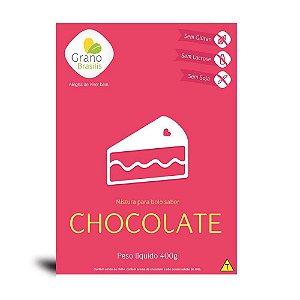 Mistura Para Bolo Sabor Chocolate Grano Brasilis 400g