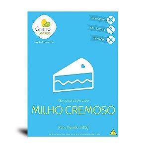 Mistura Para Bolo Sabor Milho Cremoso Grano Brasilis 380g