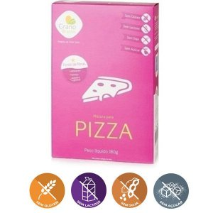 Mistura Para Pizza Sem Glúten Grano Brasilis 200g