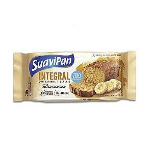 Bolo Suavipan Integral De Banana Zero Açúcar, Zero Lactose 250g