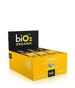 Barra de Cereais Cupuaçu Bio2 Organic Contendo 12 unidades de 25g cada