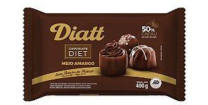 Chocolate Meio Amargo Diatt 400g