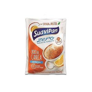Bolo De Caneca Laranja Zero Açúcar E Zero Lactose Suavipan 60g