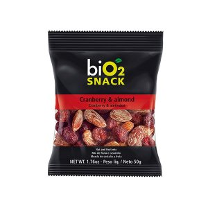 Snack Cranberry E Amêndoa Bio2 50g