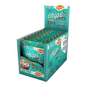Chips De Coco Flormel Boa Forma Contendo 8 Pacotes