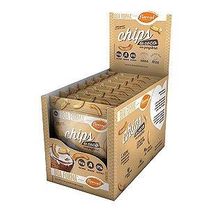 Chips De Coco Com Gengibre Flormel Boa Forma Contendo 8 Pacotes