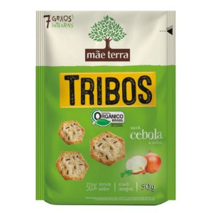 TRIBOS CEBOLA E SALSA MULTIGRÃOS MÃE TERRA 50g