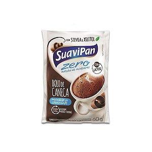 Bolo De Caneca Chocolate Zero Açúcar E Zero Lactose Suavipan 60g